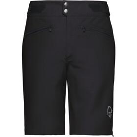 Norrøna Fjørå Flex1 Lightweight pantaloncini da ciclismo Donna nero